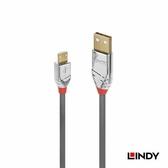 LINDY CROMO LINE USB2.0 Type-A公 to Micro-B公 傳輸線 2m