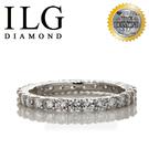【ILG鑽】頂級八心八箭鑽石戒指- 古典...