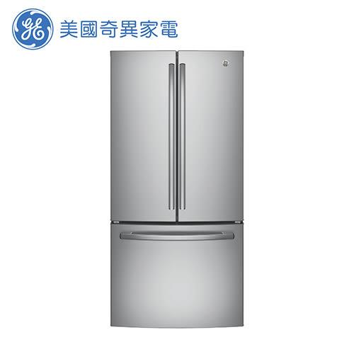 [GE 美國奇異家電]715公升不銹鋼法式三門冰箱 GNE25JSSS