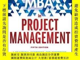 二手書博民逛書店The罕見Fast Forward MBA in Project Management, 5th Edition奇