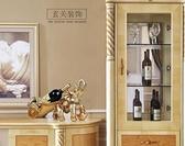 酒架 歐式大象紅酒架擺件客廳酒櫃裝飾品家居創意招財開業喬遷新居禮品 DF 艾維朵 DF