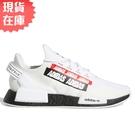 【現貨】Adidas NMD_R1 V2 男鞋 女鞋 休閒 BOOST 襪套 彈幕 白 黑 紅【運動世界】H02537