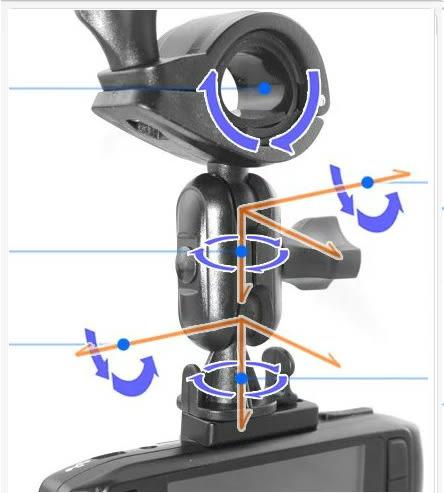 K-3200 A7-PLUS A701 A5 A8 HD-528 FHD-850 HD-600+掃瞄者後視鏡支架子免吸盤行車紀錄器支架行車記錄器固定架