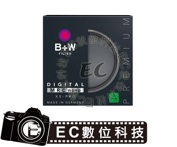 【EC數位】B+W 82mm XS-Pro MRC NANO UV-Haze 奈米鍍膜超薄保護鏡 UV保護鏡 XSP