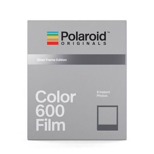 【過期品】Polaroid Color Film for 600 Silver Frames 彩色底片(銀框4675)
