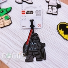 LEGO樂高 STAR WARS 星際大戰 黑武士 人偶造型行李吊牌 掛飾吊飾 COCOS LG287