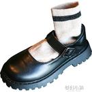 英倫學院風春秋季小學生JK黑色軟底百搭兒童鞋子公主鞋女童小皮鞋 夢幻小鎮