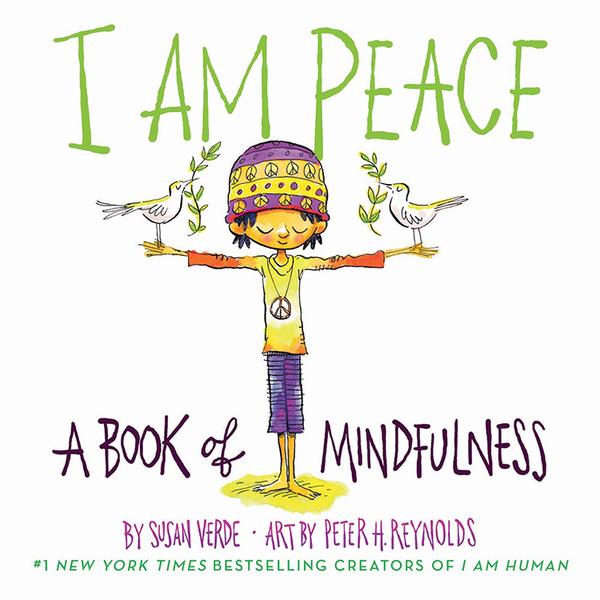 【麥克書店】I AM PEACE/硬頁書《情緒英文硬頁童書》