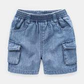 男童牛仔短褲熱褲中褲童裝寶寶兒童褲子