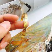 鍍金手鐲 - 飾品手鐲手鏈仿真黃金不褪色保色手環長城紋國飾品女禮物【韓衣舍】