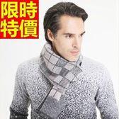 圍巾-針織拼色走秀款秋冬保暖羊毛格子毛線圍脖4色64t44【巴黎精品】
