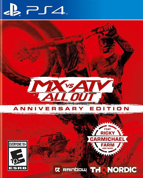 PS4 飆風越野 All Out 週年紀念版(美版代購)