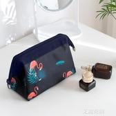 網紅化妝包ins風超火韓國小號便攜女袋手拿簡約隨身化妝品收納盒『潮流世家』