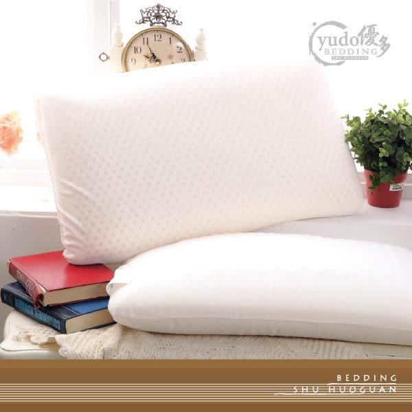YuDo優多【平面乳膠枕】平面型一入-台灣製造