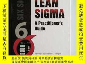 二手書博民逛書店Lean罕見SIGMA:A Practitioner Guide
