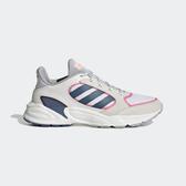 Adidas 90S Valasion [EE9907] 女鞋 慢跑 運動 避震 透氣 舒適 健身 穿搭 愛迪達 白藍