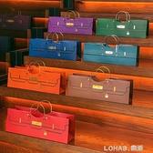 臥式酒袋 紅酒包裝手提袋香檳白酒洋酒茶葉香煙禮盒高檔通用定制 樂活生活館