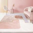 北歐滿鋪可愛簡約現代門墊客廳茶幾沙發地毯...
