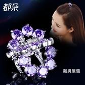 ?卡韓國頭飾品成人水晶髮夾劉海小抓夾小號髮卡優雅頭頂夾女士髮前夾