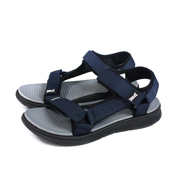 EVERLAST 涼鞋 戶外 男鞋 深藍色 4021230480 no076