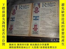 二手書博民逛書店Reader s罕見Digest 2本合售Y3210