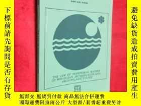 二手書博民逛書店The罕見Law of Territorial Waters o