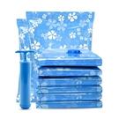 宜家惠抽氣真空壓縮袋6只裝棉被子衣物收納袋送手泵/送電泵