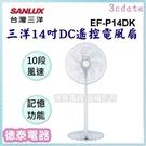 SANLUX【EF-P14DK】台灣三洋...