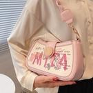 今年流行小包包女夏新款潮高級質感小眾單肩斜挎包洋氣腋下包 錢夫人小舖