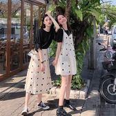 小清新套裝裙子女閨蜜裝半身裙兩件套連身裙【時尚大衣櫥】