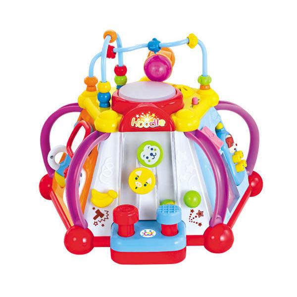 《匯樂》匯樂 15合一 806 六面音樂盒  (彌月禮盒) 16合1 益智學習寶盒←幼教玩具 15合1快樂小天地