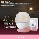 日本漂浮光球-花綻粉