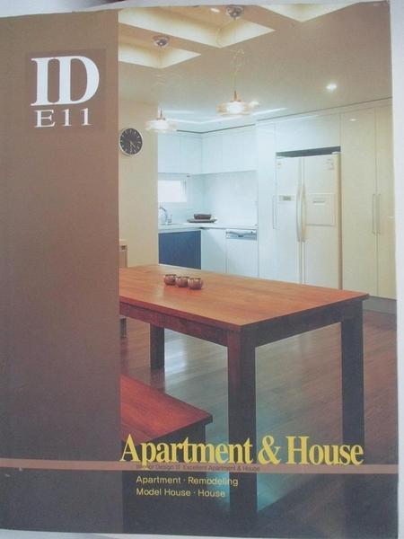 【書寶二手書T9/設計_DPC】Selected apartment & house_publisher & editor, Jeong, Ji-seong.