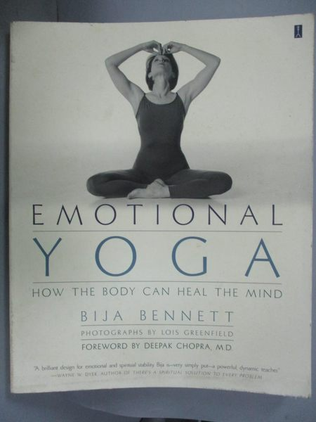 【書寶二手書T9/體育_WEZ】Emotional Yoga: How the Body Can Heal the Mi