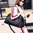 旅行包女手提韓版短途大容量運動包輕便行李...