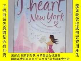 二手書博民逛書店英語原版罕見I Heart New York by Lindse