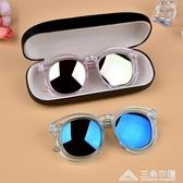 兒童眼鏡2-10歲太陽鏡男童女童墨鏡防紫外線眼鏡寶寶太陽眼鏡 三角衣櫃 三角衣櫃
