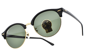 RayBan 太陽眼鏡 RB4246F 901 (黑-金) 流行都會眉框亞洲款 # 金橘眼鏡