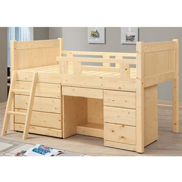 床架 高架床 FB-597-3 松木多功能高架床(不含床墊) 【大眾家居舘】