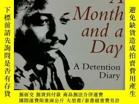 二手書博民逛書店A罕見Month and a Day by Ken Saro-W