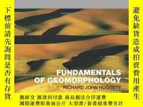 二手書博民逛書店Fundamentals罕見Of Geomorphology (