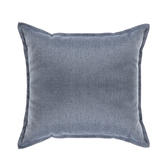 HOLA 新素色織紋抱枕50x50cm 靛藍色