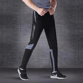 休閒裤 運動長褲男跑步健身褲空調夏季薄款速干休閒緊身收腿足球訓練褲子