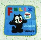 【震撼精品百貨】菲力貓_Felix the Cat-手帕-藍