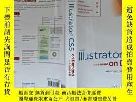 二手書博民逛書店Adobe罕見lllustrator cs5 on Demand(看圖)Y10563 原版 原版 出版201