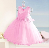 公主禮服女童婚紗鋼琴演出服花童2019新款洋裝兒童主持人HT745