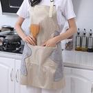 掛脖擦手圍裙 工作服 無袖 大口袋 防水 烘焙 料理 居家 日式 防燙 圍裙【T008】生活家精品