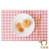 方巾餐桌墊西餐墊防燙隔熱餐具墊兒童餐布【宅貓醬】
