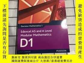 二手書博民逛書店Edexcel罕見AS and A Level Modular Mathematics D1 Decision M