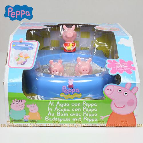 【Peppa Pig】粉紅豬小妹 快樂洗澡遊戲組PE36011[衛立兒生活館]